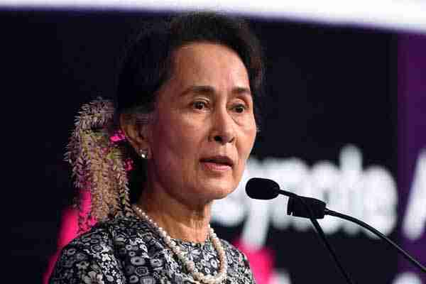 Amnesty International Cabut Penghargaan Aung San Suu Kyi